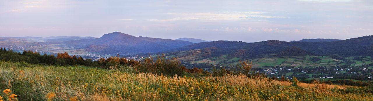 Panorama Dukli