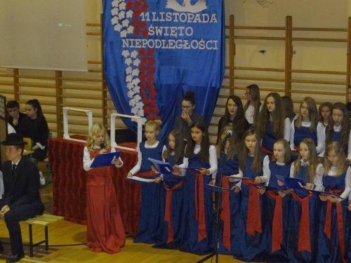 Święto Niepodległości w Łękach Dukielskich