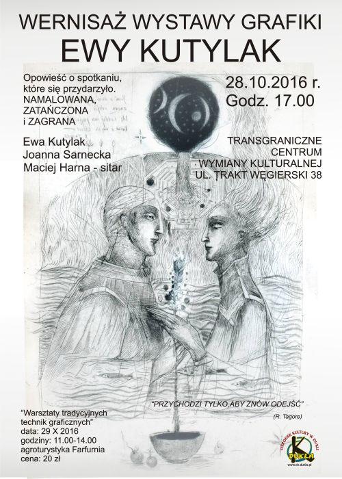 Wernisaż wystawy grafiki Ewy Kutylak