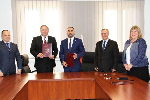 Wizyta delegacji ukraińskiej w Dukli